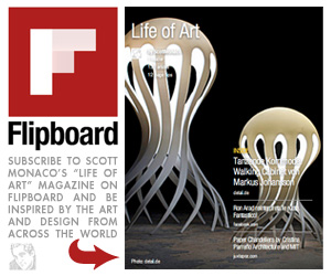 Subscribe to Scott Monaco's Life of Art magazine on Flipboard and be inspired by th art and design from across the world!